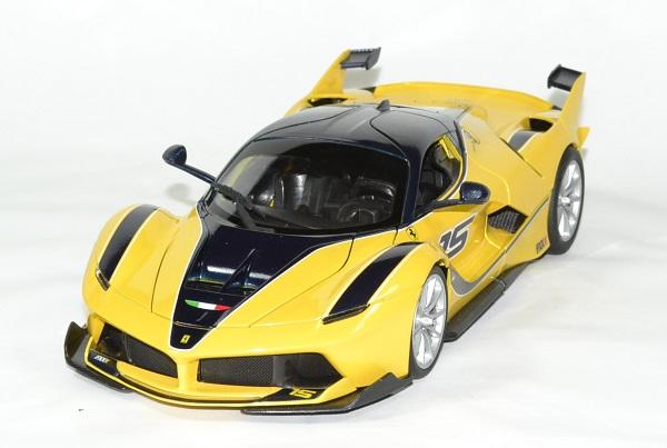 Ferrari fxxk jaune 1 18 bburago 1 18 autominiature01 2