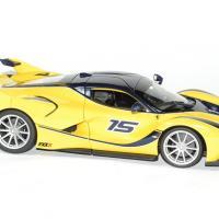 Ferrari fxxk jaune 1 18 bburago 1 18 autominiature01 3