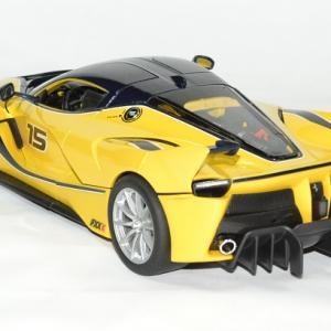 Ferrari fxxk jaune 1 18 bburago 1 18 autominiature01 4