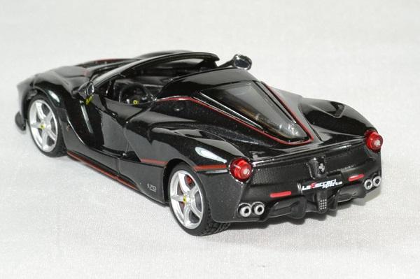 Ferrari la ferrari aperta black 1 43 bburago autominiature01 2