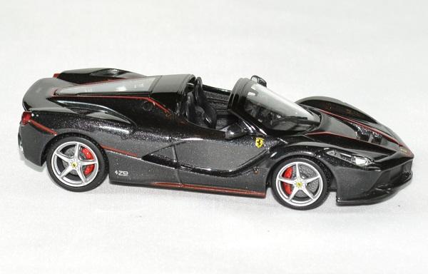 Ferrari la ferrari aperta black 1 43 bburago autominiature01 3