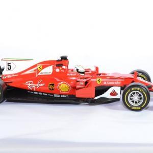 Ferrari sf 70h formule 1 n5 vettel 1 18 bburago autominiature01 3