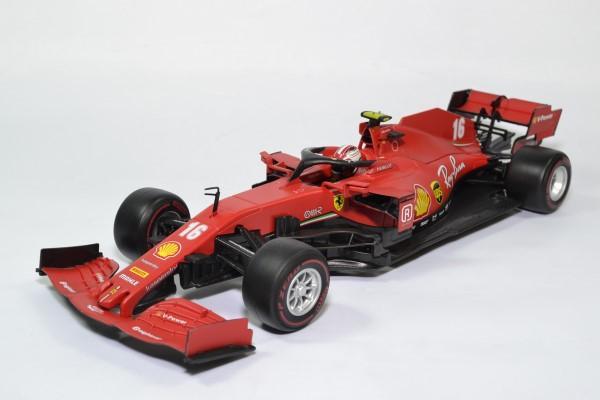 Ferrari sf1000 16 leclerc 2020 f1 autriche 1 18 bburago 16808l autominiature01 1