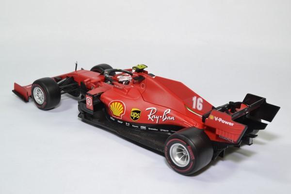 Ferrari sf1000 16 leclerc 2020 f1 autriche 1 18 bburago 16808l autominiature01 2