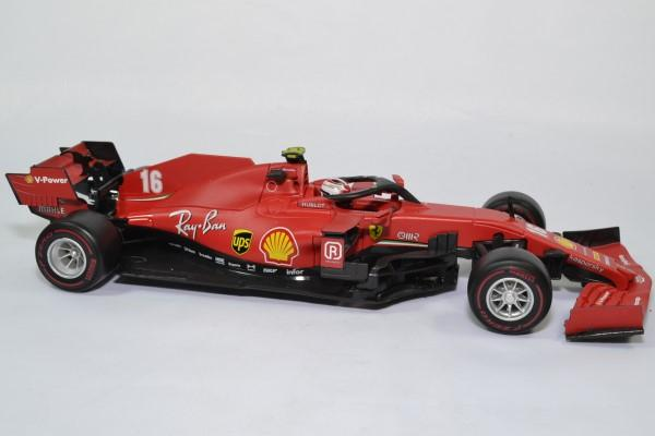 Ferrari sf1000 16 leclerc 2020 f1 autriche 1 18 bburago 16808l autominiature01 3