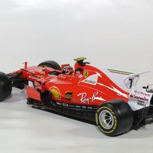 Ferrari sf70 5 raikkonen 2017 1 18 bburago autominiature01 2