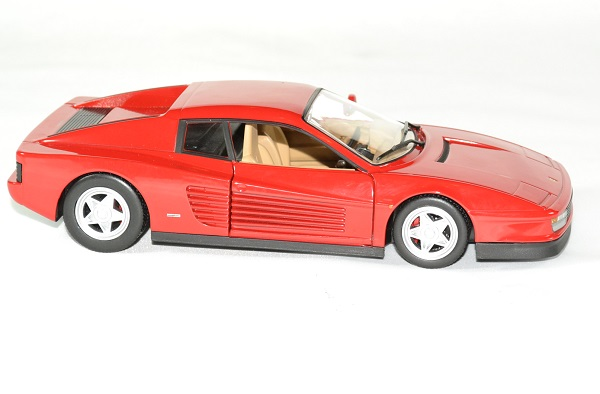 Ferrari testarossa 1 24 bburago autominiature01 3