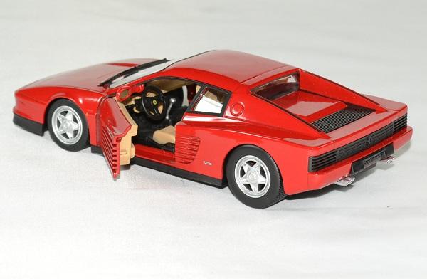 Ferrari testarossa 1 24 bburago autominiature01 4