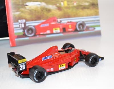 Ferrari 640 F1 89C # 28 G.Berger Portugal GP 1989  Ixo 1/43