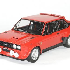 Fiat 131 abarth 1981 rouge ixo autominiature01 1