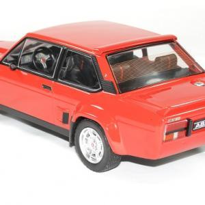 Fiat 131 abarth 1981 rouge ixo autominiature01 2