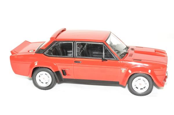 Fiat 131 abarth 1981 rouge ixo autominiature01 3