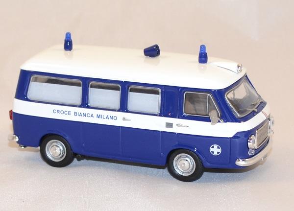 Fiat 238 ambulance croix blanche milan 1973 rio 1 43 autominiature01 2