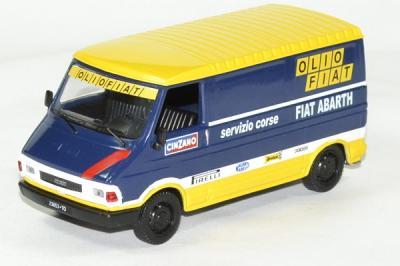 Fiat 242E Abarth Olio Falt 1976 Assistance Rallye