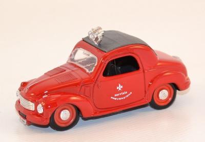 Fiat 500C vigile del fuoco pompiers 1949
