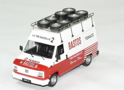 Fiat van assistance Rallye