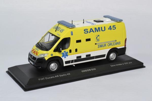 Fiat ducato samu 45 intervention secours odeon 1 43 0034 autominiature01 1