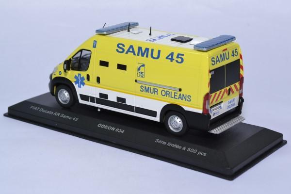 Fiat ducato samu 45 intervention secours odeon 1 43 0034 autominiature01 2
