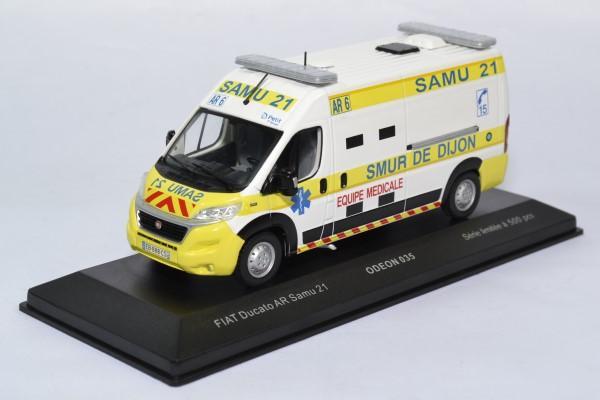 Fiat ducato samu dijon 21 secours odeon 1 43 0035 autominiature01 1