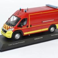 Fiat ducato vsr sapeurs pompiers avec decalques odeon 1 43 0048 autominiature01 1