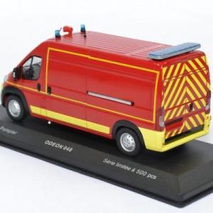 Fiat ducato vsr sapeurs pompiers avec decalques odeon 1 43 0048 autominiature01 2