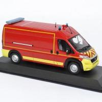 Fiat ducato vsr sapeurs pompiers avec decalques odeon 1 43 0048 autominiature01 3