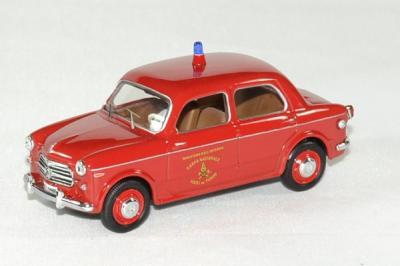 Fiat 1100 - 103 T.V pompier 1956
