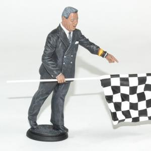 Figurine directeur de course 1960 flm 1 18 autominiature01 2