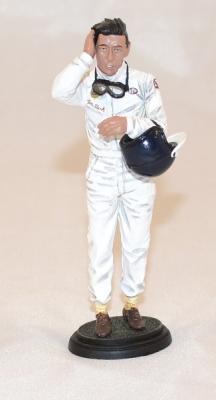 Figurine jim Clark 1967  pilote Le Mans Miniatures 1/18