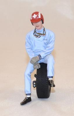 Figurine Josef Siffert 1963 Le mans miniatures 1/18