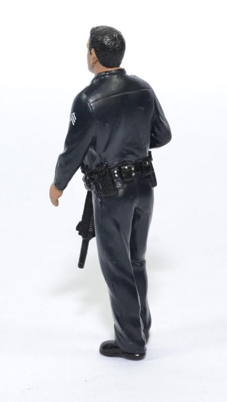 Figurine officier police us 1 18 american diorama autominiature01 24011 2