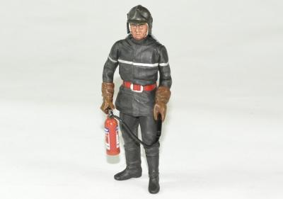 Figurine Sapeur Pompier Jean-Luc avec extincteur
