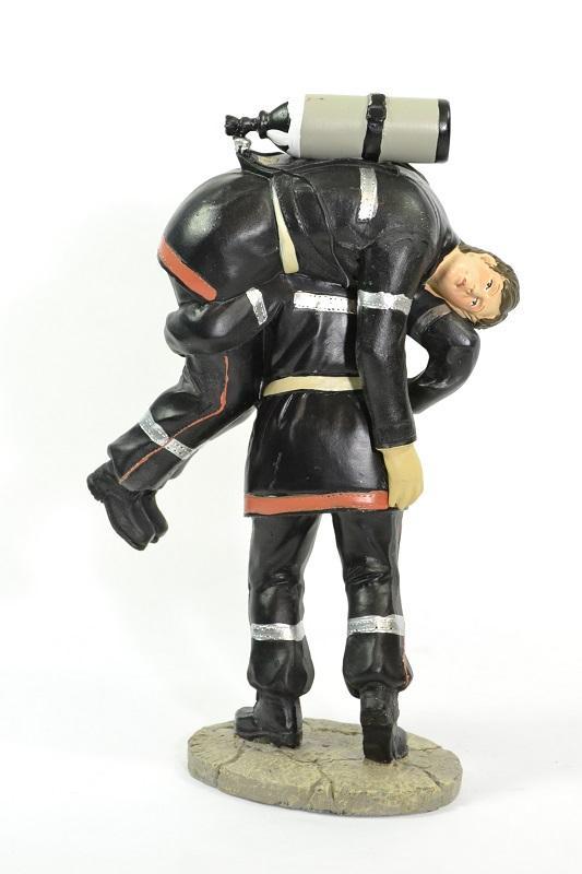 Figurine sapeur pompier sauveteur 20cm pom057 autominiature01 2
