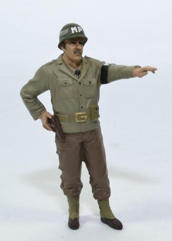 Figurine soldat us army ww2 mp direction 1 18 american diorama autominiature01 77415