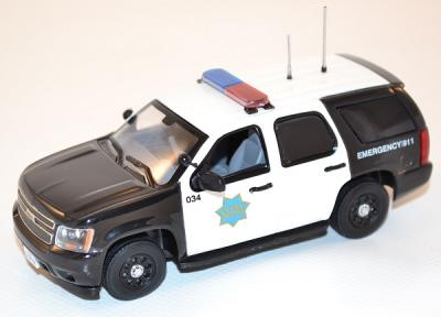 Chevrolet Tahoe San Francisco police dept First Response 1/43