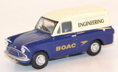 Ford anglia van British Airways Boac miniature oxford 1/43