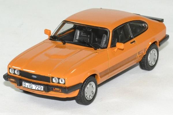 Ford capri 3 s orange 1980 norev 1 43 autominiature01 1