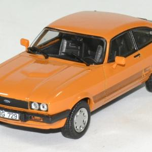 Ford capri 3 s orange 1980 norev 1 43 autominiature01 1