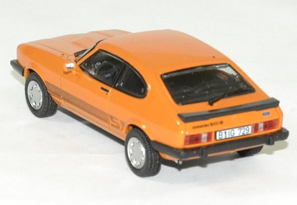 Ford capri 3 s orange 1980 norev 1 43 autominiature01 2