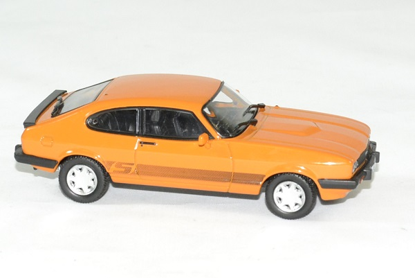Ford capri 3 s orange 1980 norev 1 43 autominiature01 3