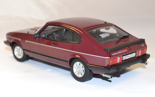 Ford capri mk2 2 8 injection 1982 norev 1 18 autominiature01 com 2