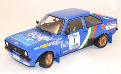 Ford Escort mk2 RS1800 #1Latvala rallye 2010 Sunstar 1/18