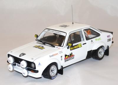 Ford escort mk2 rs1800 1er suede historic 2013 soldberg sunstar 1/18
