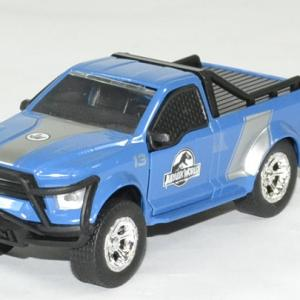 Ford f 150 bleu jurassic world rescue jada toys 1 43 autominiature01 1