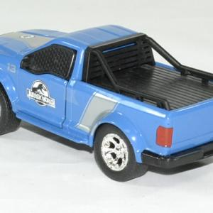 Ford f 150 bleu jurassic world rescue jada toys 1 43 autominiature01 2