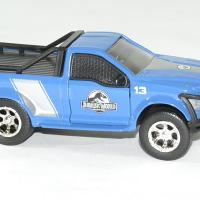 Ford f 150 bleu jurassic world rescue jada toys 1 43 autominiature01 3