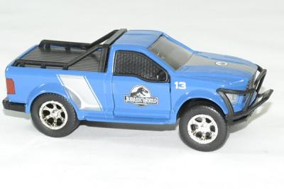 Ford F150 bleu rescue truck Jurassic World
