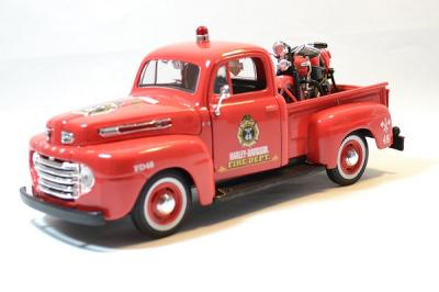 Ford F1 fire truck with harley davidson