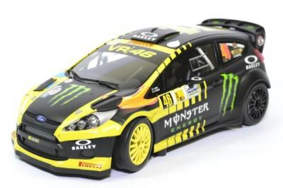 Ford FIESTA rs wrc Rossi / Cassina 2nd Monza Rally Show 2013