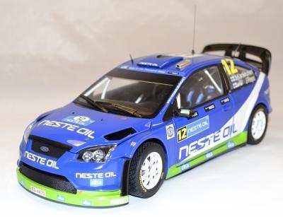 Ford focus rs WRC #12 Kankkunen finlande 2010 Sunstar 1-18